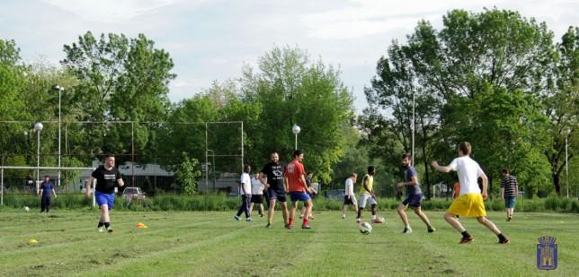 Jeden z prvých tréningov NK Zahreb 041